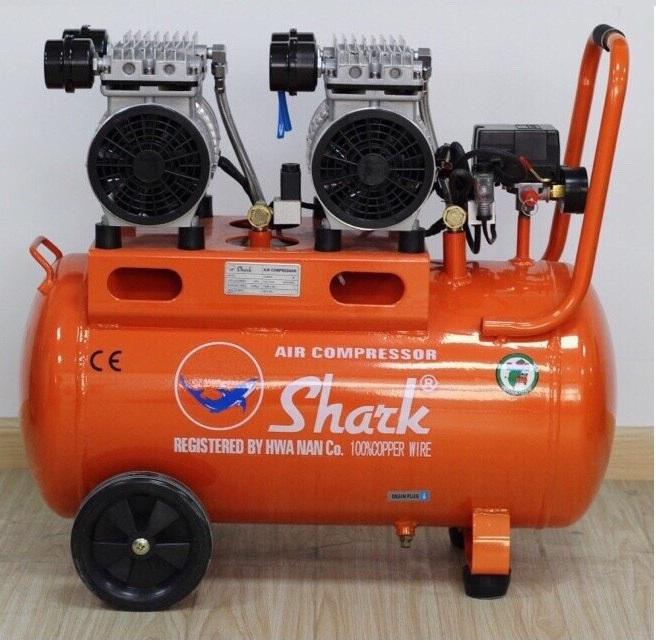 Máy nén khí không dầu Shark 50 lít